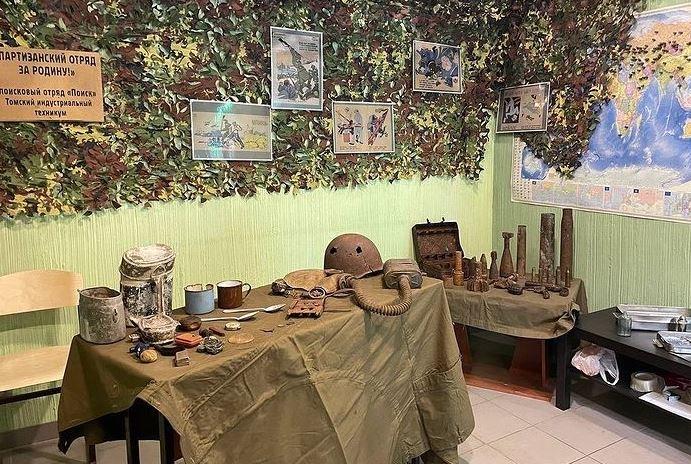 Выставка в стрелковом центре в честь Дня Победы