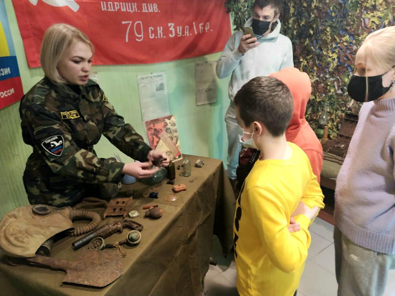 В Томске прошла выставка, посвященная 166-ой дивизии